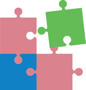 cartoon image of puzzle pieces