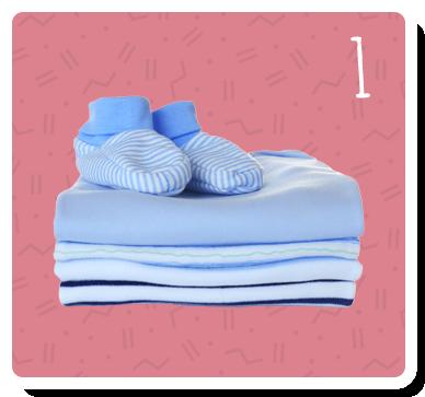 photo of baby items