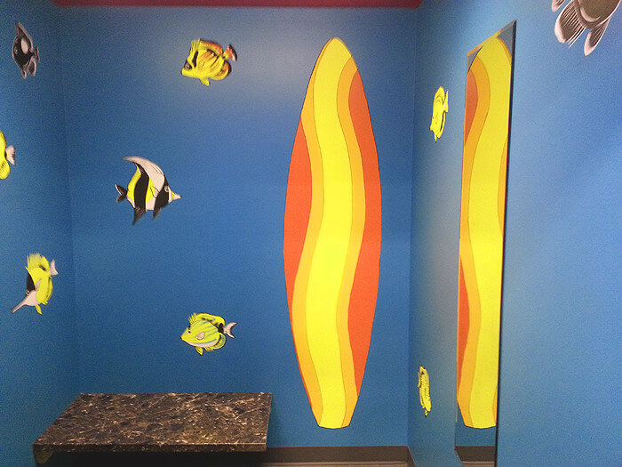 photo of dressing room