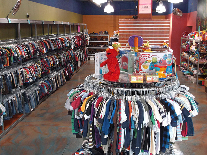 photo of clothes and toys