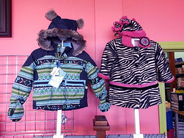 photo of winter coats